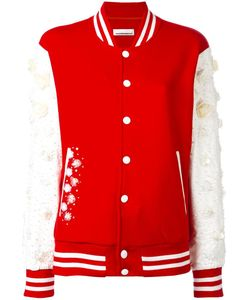 Night Market | Embellished Varsity Jacket Small Polyester/Cotton
