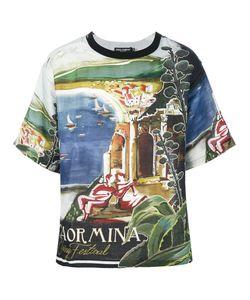 Dolce & Gabbana | Футболка С Принтом Taormina