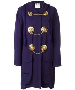 MOSCHINO VINTAGE   Medal Embellished Coat Size