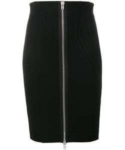 Givenchy | Zipped Bodycon Skirt 40 Viscose/Polyamide/Spandex/Elastane/Silk