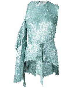 Magda Butrym | Sequin Embellished Tie Waist Blouse