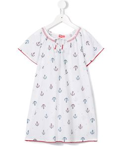 Sunuva | Anchor Print Kaftan Dress 8 Yrs