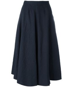 Forte Forte | Midi Full Skirt I Cotton/Linen/Flax