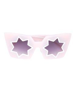 Linda Farrow | Star Shaped Sunglasses