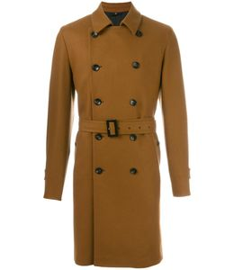 HEVO | Belted Mid Length Coat 54 Virgin Wool/Polyamide/Viscose