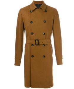 HEVO | Belted Mid Length Coat 54 Virgin Wool/Polyamide/Viscose