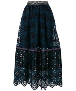 Miahatami | Lace Detail Pleated Skirt Women