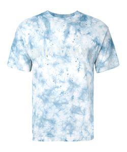 SATISFY | Distressed Tie-Die T-Shirt