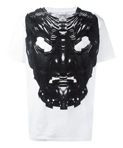 MARCELO BURLON COUNTY OF MILAN | Mask Print T-Shirt Medium