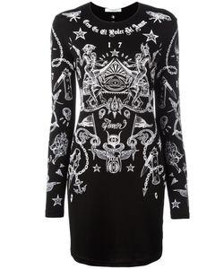 Givenchy | Платье С Принтом Татуировок