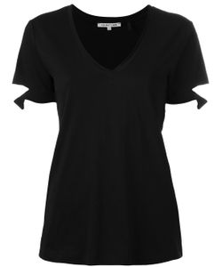 Helmut Lang | Slashed Sleeve T-Shirt