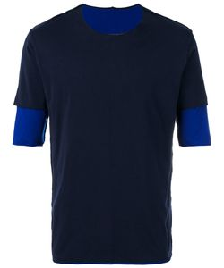 ATTACHMENT | Layered Sleeves Tonal T-Shirt
