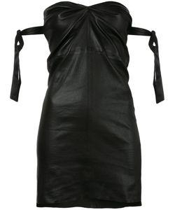 RTA | Приталенное Платье Без Бретелей