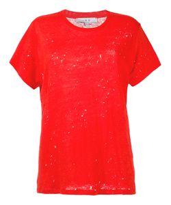 Iro   Distressed T-Shirt Size Medium
