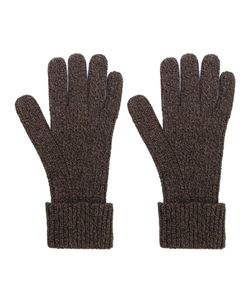 N.PEAL | Ribbed Gloves Men