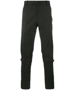 Alexander McQueen | Strap Detail Trousers 46 Cotton/Acetate/Viscose