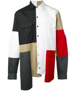 LIAM HODGES | Asymmetric Colour Block Shirt