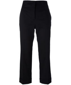 Jil Sander | Tailo Cropped Trousers 38 Cotton/Spandex/Elastane