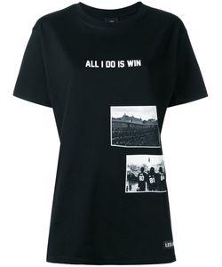 LES ARTISTS | Les Artists All I Do Is Win T-Shirt Medium