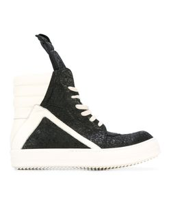 Rick Owens | Lace-Up Hi-Top Sneakers 40 Leather/Rubber