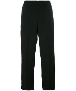 Tory Burch | Elasticated Waist Cropped Trousers Size 8