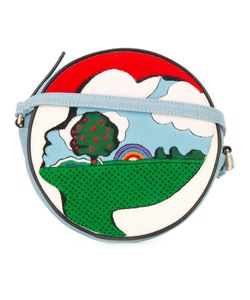 Olympia Le-Tan | Picturesque Circle Crossbody Bag Cotton