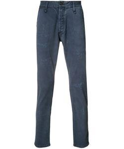 Denham | Distressed Effect Jeans 33/32 Cotton/Spandex/Elastane