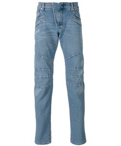 Pierre Balmain | Seaming Details Slim-Fit Jeans