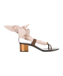 Giuseppe Zanotti Design | Scarf Tie Sandals Size 38.5