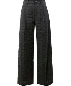 Issey Miyake | Square Print Trousers Size 1