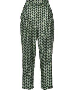Alena Akhmadullina | Geometric Print Trousers