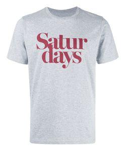 SATURDAYS NYC | Saturdays Print T-Shirt