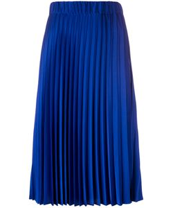P.A.R.O.S.H. | Mid-Length Pleated Skirt Polyester