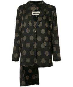 UMA WANG | Dotted Blazer Small Cotton/Linen/Flax/Polyester