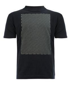 Christopher Nemeth | Weave Print Funnel-Neck T-Shirt Small Cotton