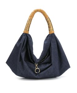 Xaa | Denim Shoulder Bag Cotton/Leather