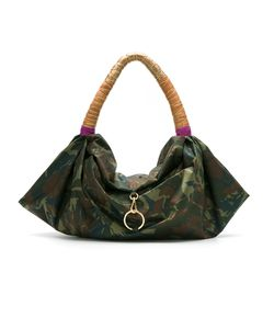 Xaa | Camouflage Tote Bag Leather/Nylon