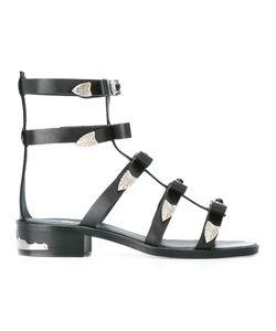 Toga Pulla | Gladiator Western Sandal Size 38