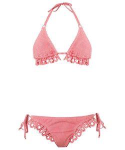 AMIR SLAMA | Panelled Triangle Bikini Set P Elastodiene
