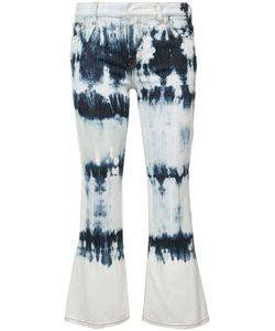 Faith Connexion | Tie Dye Kick Flare Jeans
