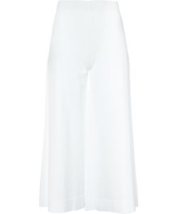 D.exterior | Wide-Leg Cropped Trousers S