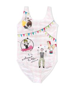 LOVE MADE LOVE | Circus Print Swimsuit 12 Yrs