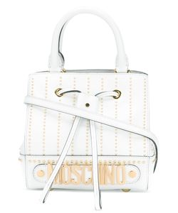 Moschino | Studded Logo Cross-Body Bag