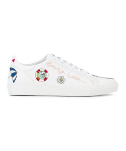 Mira Mikati | Running Late Embroidered Sneakers Size 39