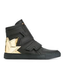 ALBERTO PREMI   Heel Counter Hi-Top Sneakers Unisex