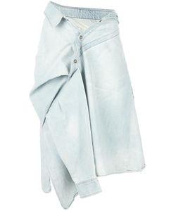 Faith Connexion | Asymmetric Shirt Tied Skirt Xs Cotton