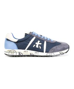 PREMIATA WHITE | Lucy Sneakers 45 Nylon/Leather/Suede/Rubber