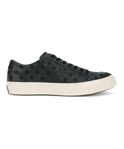 Converse | Polka-Dot Low-Top Sneakers 8.5 Leather/Rubber