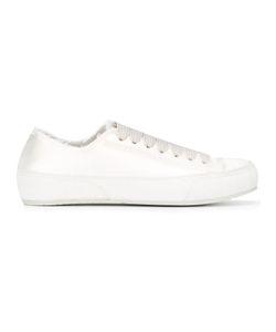 Pedro García   Pedro Garcia Parson Sneakers 40 Silk/Suede/Rubber/Leather