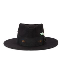 NICK FOUQUET | Ribbon Trim Hat Men